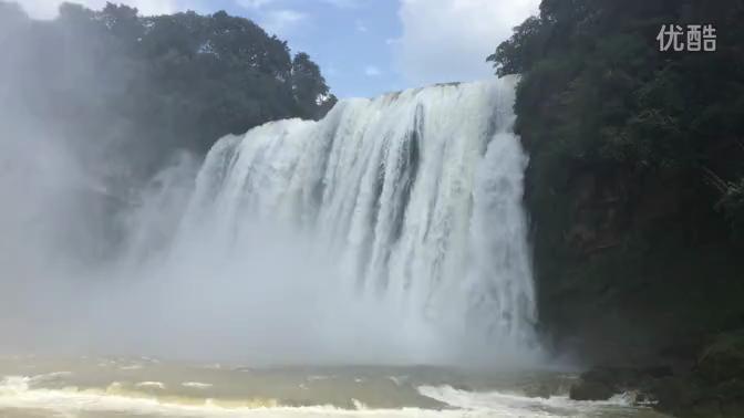 贵州省风景区黄果树瀑布视频