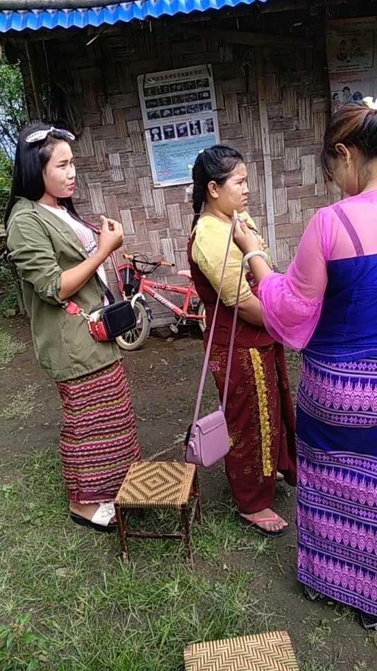 和缅甸女孩相亲中,希望老铁关注,祝我成功吧